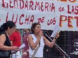 Rosario: Fotos del acto en solidaridad con los trabajadores de Las Heras
