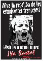 �viva la rebeli�n de los estudiantes Franceses!