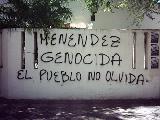 Escrache al genocida Menendez/Mi�rcoles 22 de Marzo, 18 hs