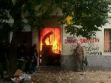 Fotos del conflicto en el centro social Olga V�zquez