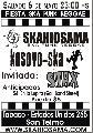 SKAhiosama Sab 6 y Dom 7 - fiesta reggae ska