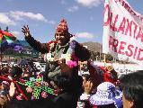 Lo de Ollanta en Perú va en serio / Revista Mariátegui