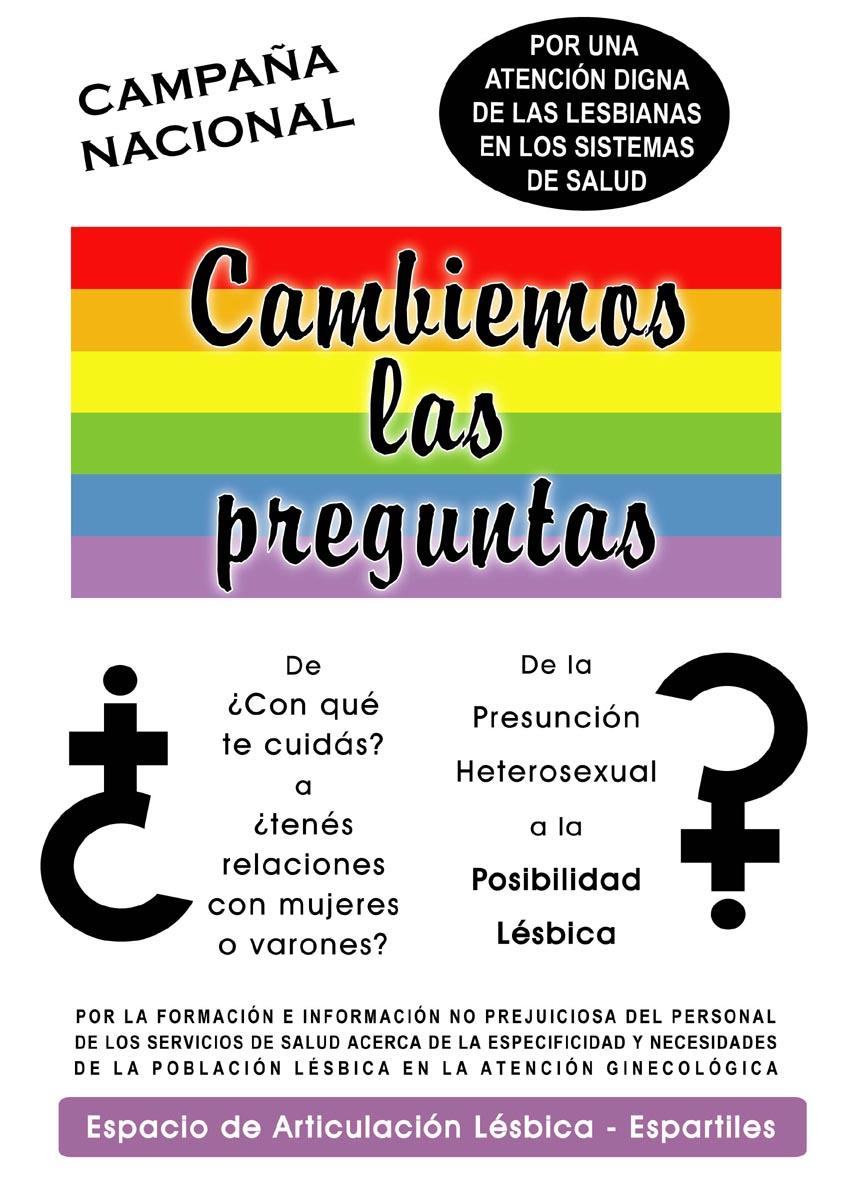 Resultado de imagen para cambiemos las preguntas lesbianas