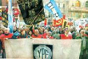20 de Junio, Día de la Bandera: Marcha por la nacionalización del petróleo y el gas