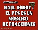 DECLARACION DE RAUL GODOY ANTE LA FRACCION EN CORDOBA