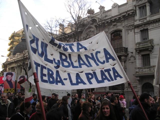 Acto en La Plata con...
