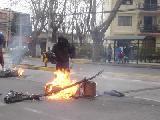 Santiago de $hile, Contra las cárceles