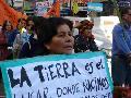 """Se levanto el """"Rancho de la Resistencia Campesina"""""""