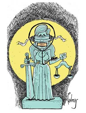 LA JUSTICIA INCOHERE...