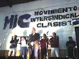 Gran acto lanzamiento del MIC en la zona norte