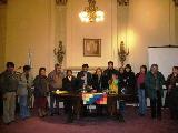 Integrantes del Centro de Residentes Bolivianos en Cordoba