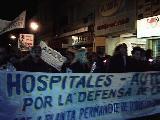 Quinta marcha de las antorchas en defensa Salud