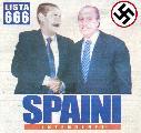 Vergonzoso: la sociedad, asqueada, le dio un rotundo NO a Spaini