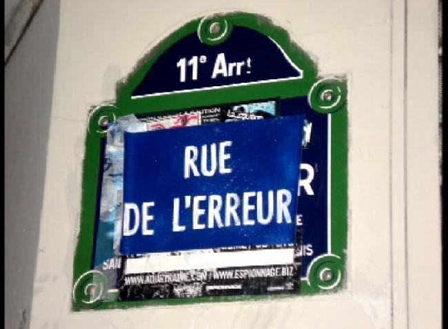 DIA DEL ERROR PARIS-...