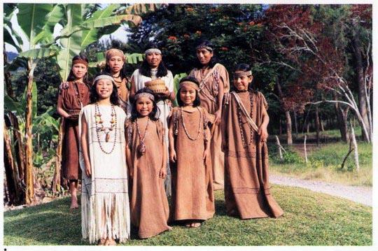 Vestimenta De Indigenas