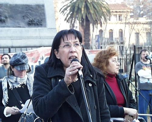 Norma Ríos, de APDH ...