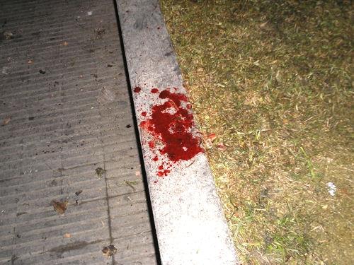 Sangre frente al Lav...