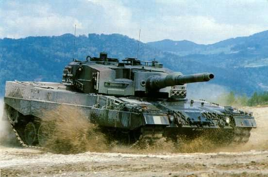 TANQUE LEOPARD 2...