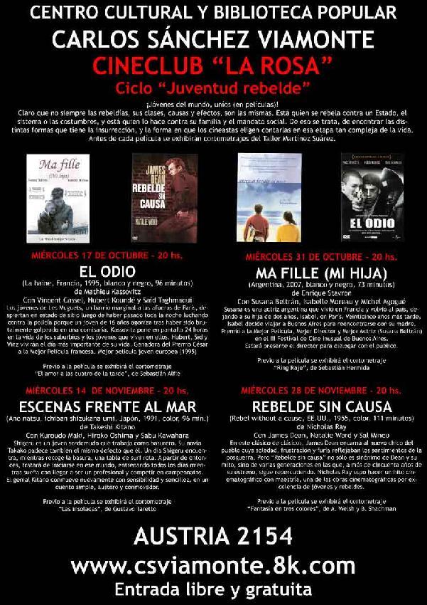 Cineclub La Rosa: Pr...