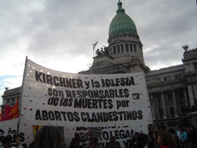 Kirchner responsable...