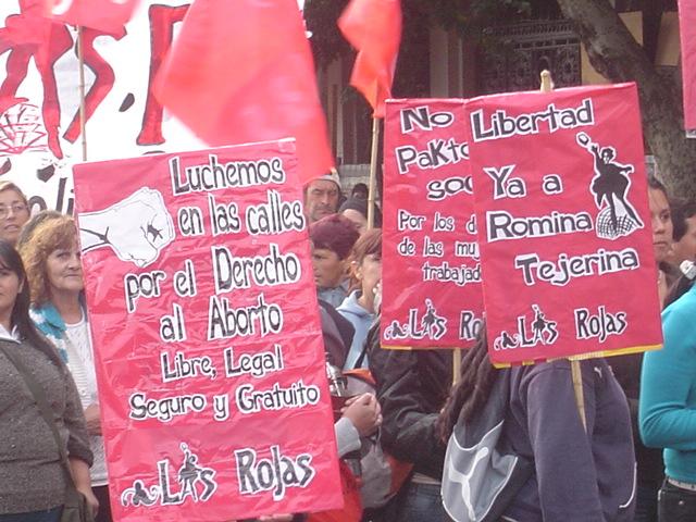 Las Rojas del MAS...