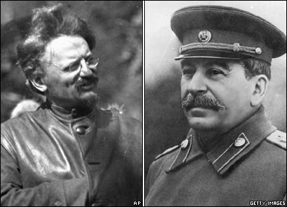 Que es mejor, Trotsky y el trotskismo o Stalin y el estalinismo? _42761719_trotsky_stalin416x300
