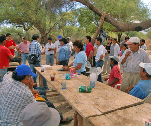 Lutte du peuple quilmes contre le gouvernement de la province de Tucuman