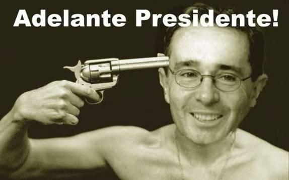 adelante presidente ...