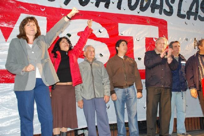 ACTO del MST en Plaz...