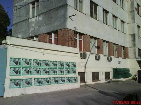 La pared del Hospita...