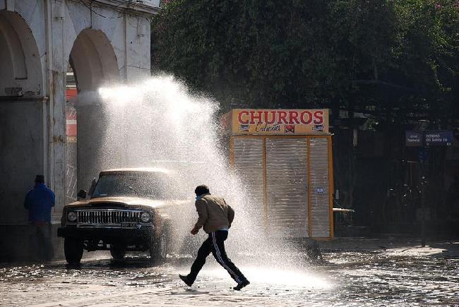 Carros hidrantes...