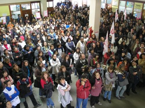 Protesta de AMSAFE R...
