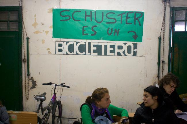 Bicicletero, pero no...