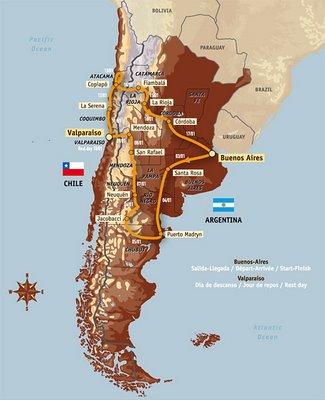 Dakar Argentina-Chil...