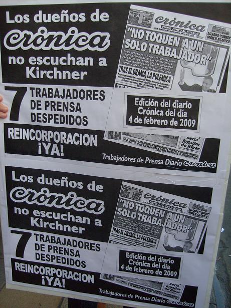 Afiche de trabajador...