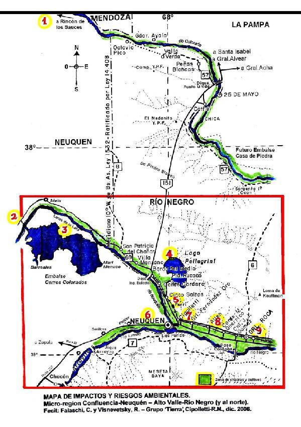 Mapa de impactos y r...