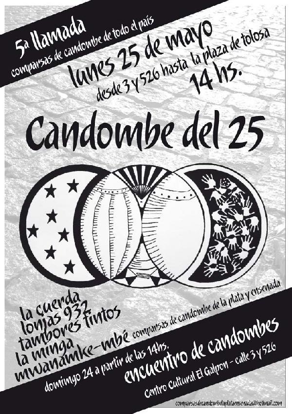 CANDOMBE DEL 25...