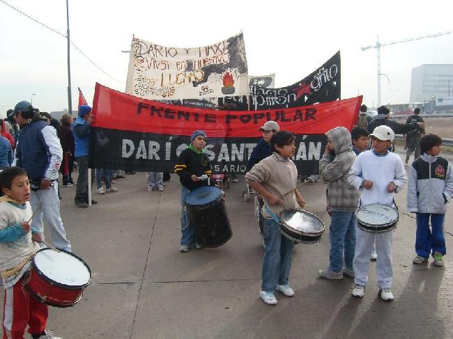 Corte en Rosario a 7...