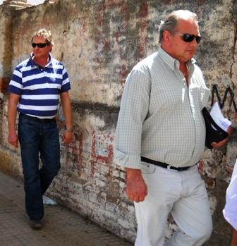 Los Hermanos Scaramuzza rumbo al Tribunal de Deán Funes