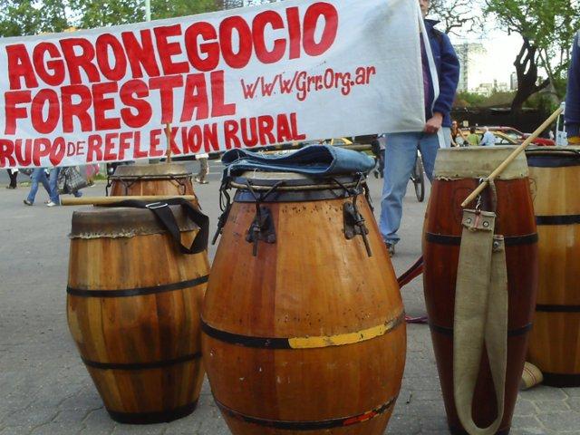 Tambores antiforesta...