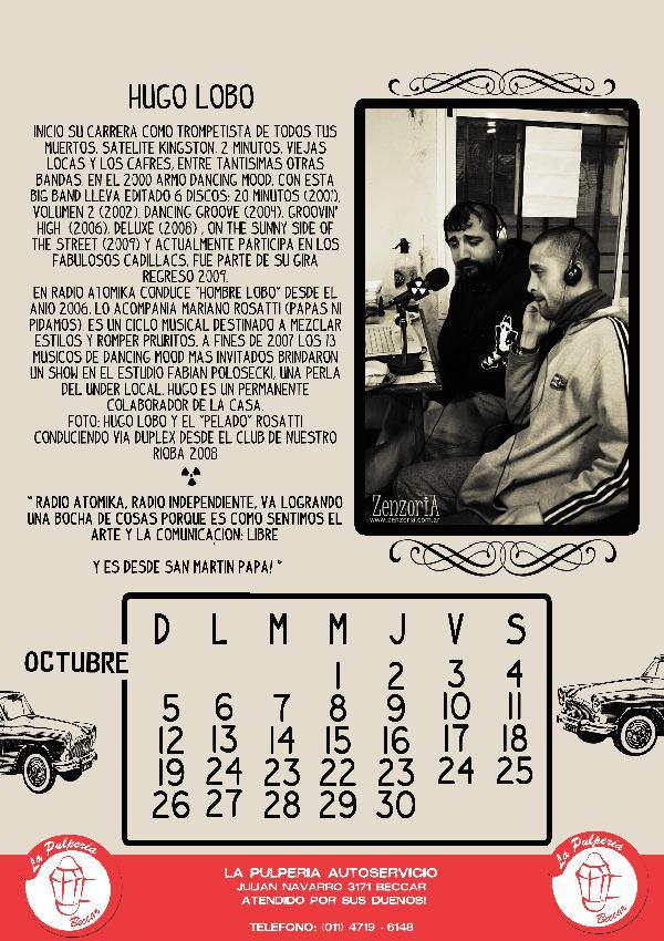 Octubre - Radio Atom...