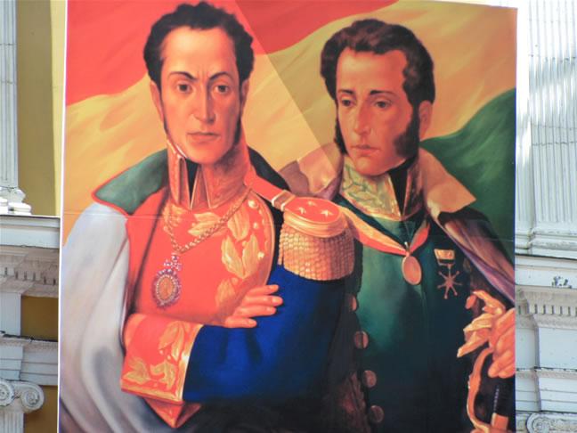 Antonio Jose De Sucre Simon Bolivar