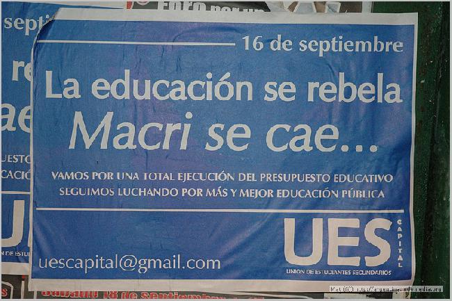 La educacion se rebe...