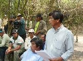 Reuni�n entre l�deres de comunidades abor�genes de Formosa