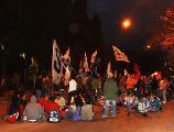 Concentracion en C�rdoba en solidaridad con el pueblo de Ecuador