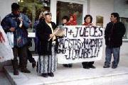 Esquel: comunidades originarias rechazan que el ex juez Colabelli sea repuesto en su cargo