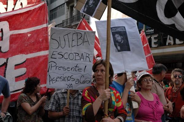 Protest-und Trauermarsch