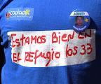 Gobierno chileno censur� mensaje de los 33 mineros apoyando al pueblo Mapuche