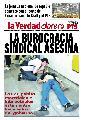 La burocracia sindical asesina