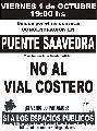 ACCION PAC�FICA EN DEFENSA DE LOS ESPACIOS PUBLICOS.